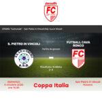 Coppa Italia Eccellenza, il ritorno