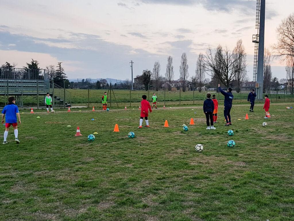 Il Centro Tecnico Federale della FIGC in campo con i nostri Allenatori
