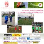 Il Centro Tecnico Federale della FIGC in campo con gli Allenatori della nostra Scuola Calcio a Forlì