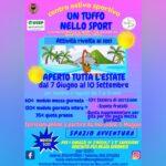 """Centro Estivo 2021 a Forlì """"UN TUFFO NELLO SPORT"""""""