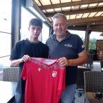 Nicholas Poggi, il nuovo giovane terzino mancino di Futball Cava Ronco.