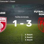 Coppa Italia Minetti: Classe vs Futball Cava Ronco 1-3